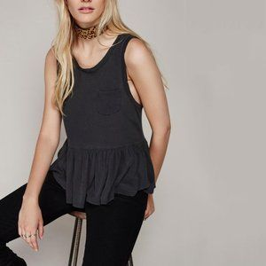 Free People We the Free Continental Peplum Top | L